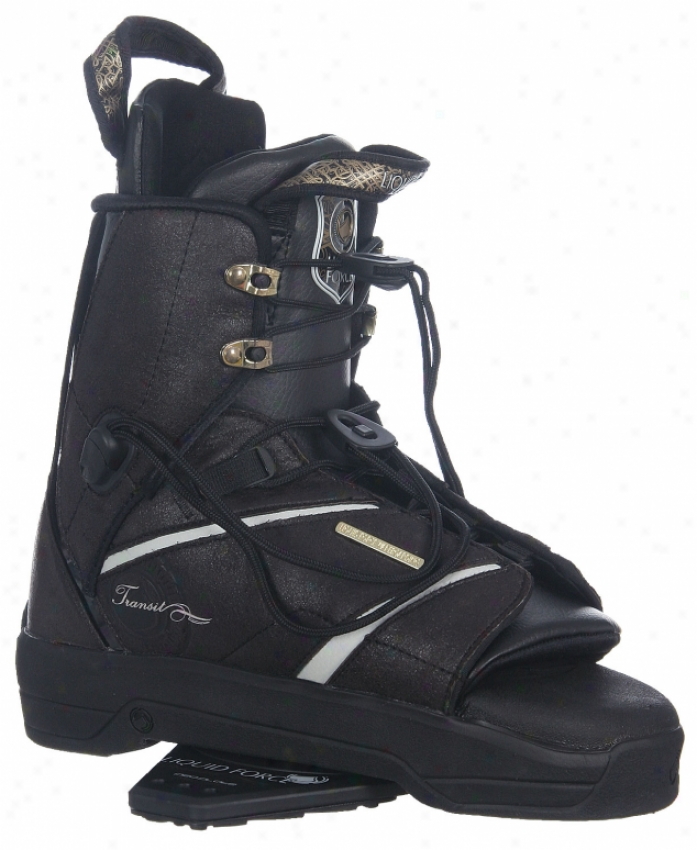Liquid Force Transit Wakeboard Bindings Brown/black