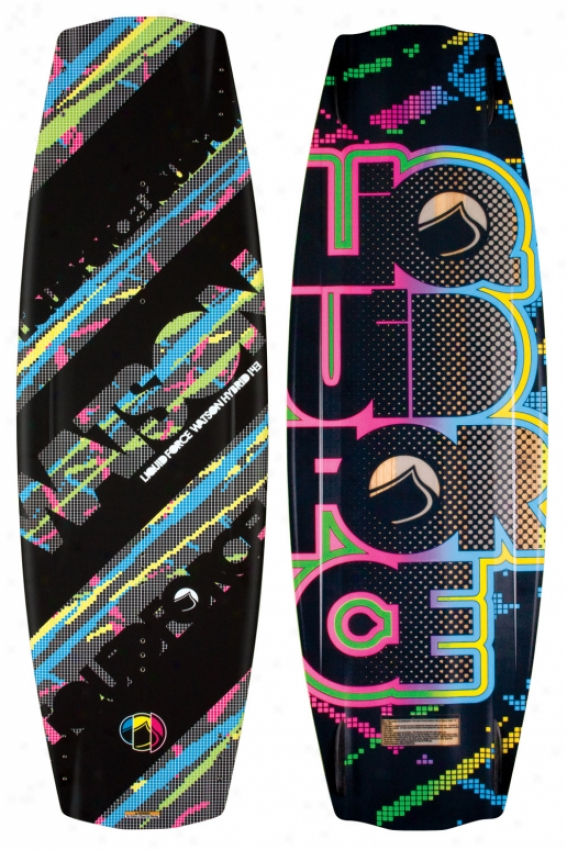 Liquid Force Watson Hybrid Wakeboard 143 Blem