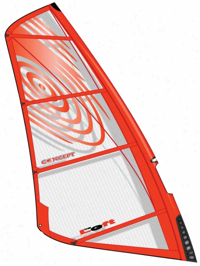 Loft Concept Windsurfing Sail Red 4.0m