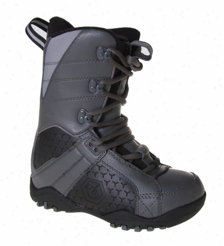 Ltd Classic Snowboard Boots Grey/black
