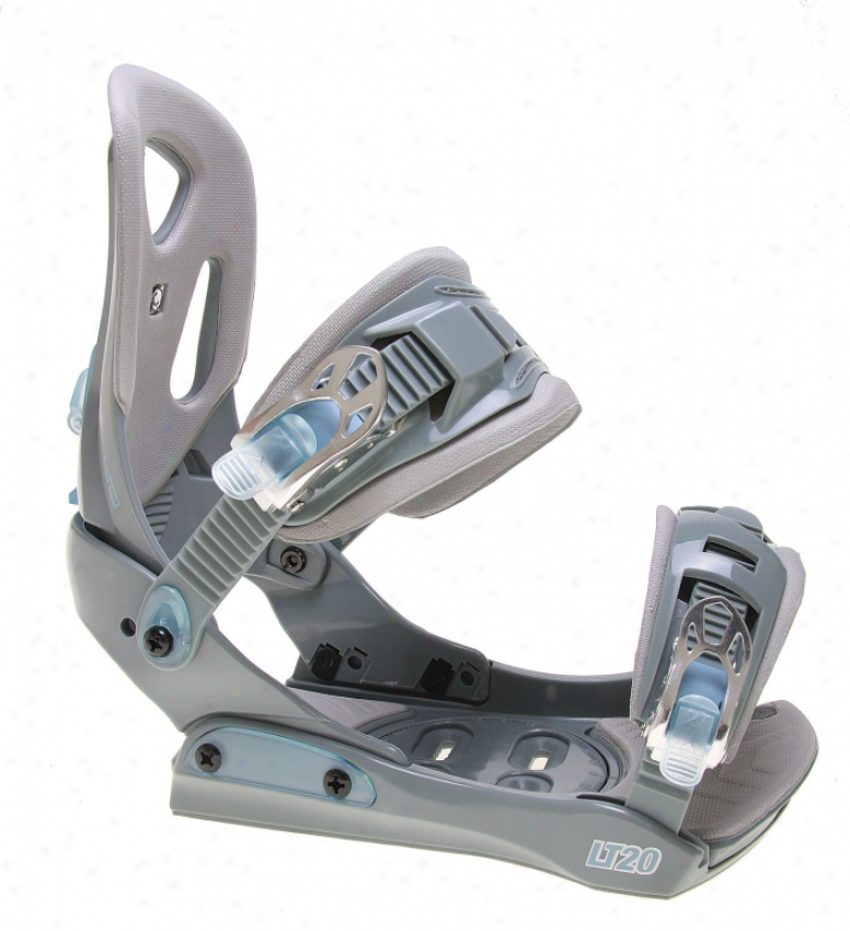 Ltd Lt2O Snowboard Bindings Grey