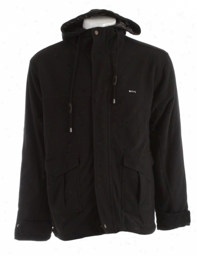 Matix Mueller Fleece Jacket Black