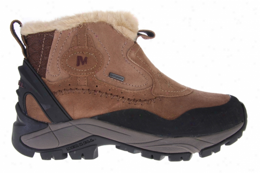 Merrell Sleet 6 Waterproof Boots Dark World