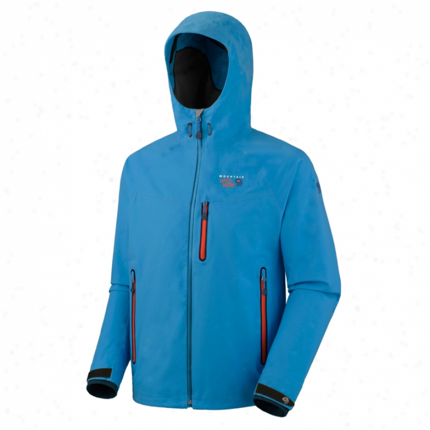 Mount Hardwear Kepler Softshell Jacket Blue Horizon