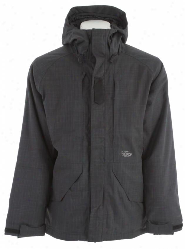 Nike Slainte Snowboard Jacket Black/cannon