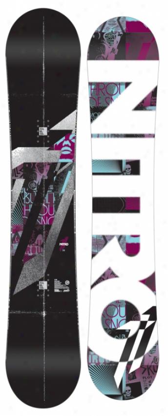Nitro T1 Zero Snowboard 156