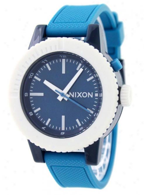 Nixon Gogo Watcn Green/blue/navy