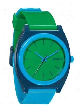 Nixon Time Teller P Watch Green/blue/navy