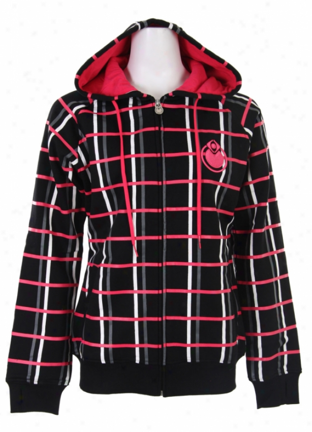 Nomis Og Plaid Hoodie Black