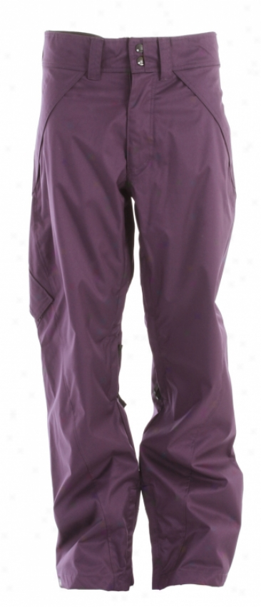 Nomis Simon Says Shell Snowboard Pants Concealment Purps