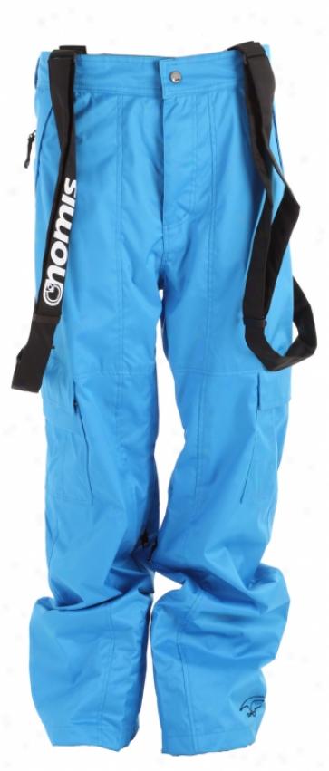 Nomis Simon Signature Cargo Shell Snowboard Pants Bright Blue