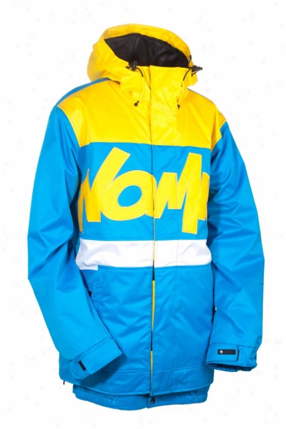 Nomis Tony Shell Snowboard Jacket Bright Blue