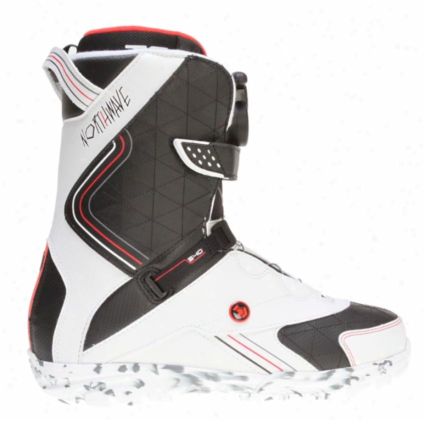 Northwave Caliber Snowboard Boots White/black