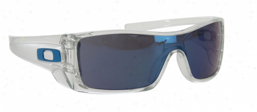 Oakley Batwolf Sunglasses Clear/ice Iridium