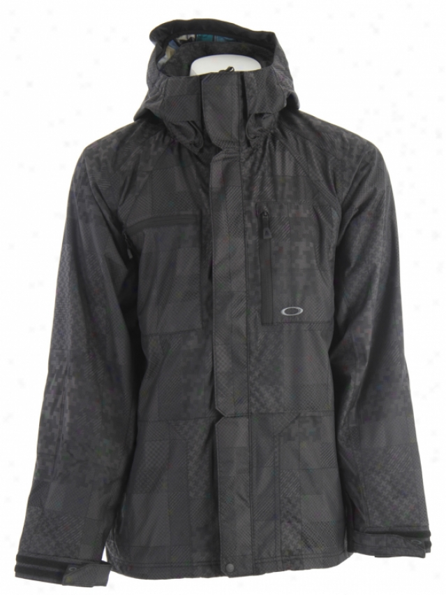 Oakley Deals Snowboard Jacket Black Buffalo