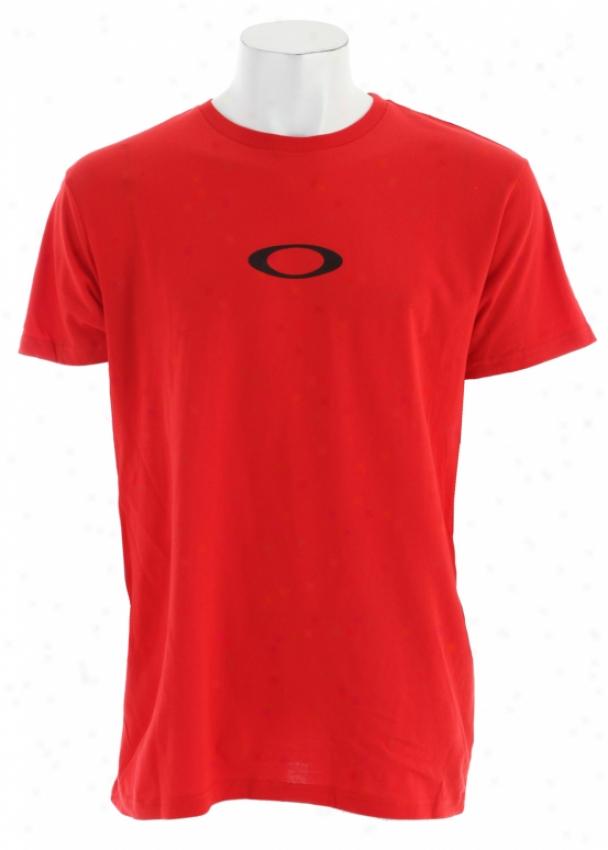 Oakley Icon 2.8 T-shirt Red Line W/ Black
