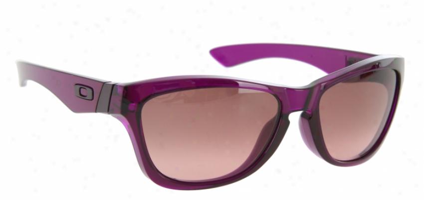 Oakley Jupiter Sunglasses Grape Juice/g40 Black Gradient Lrns