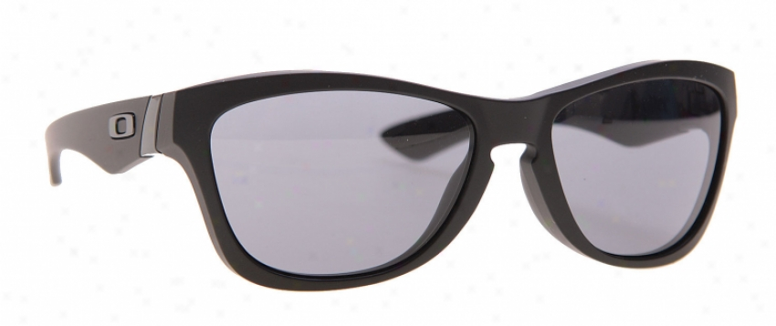 Oakley Jupiter Sunglasses Matte Black/grey Lens