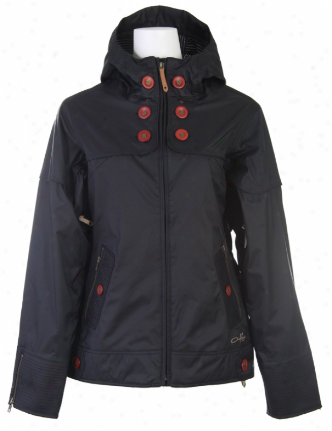 Oakley Lighter Fare Snowboard Jacket Black