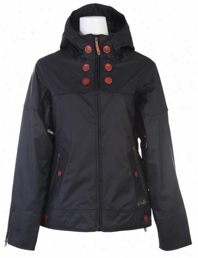 Oakley Lighter Fare Snowboard Jacket Black