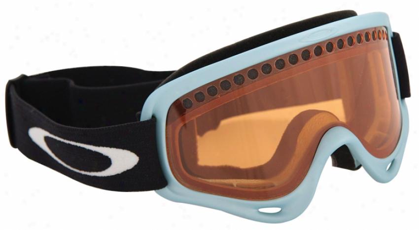 Oakley O Frame Snowboard Goggles Powder Blue/persimmon Lens