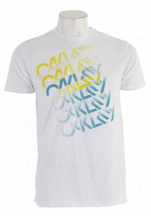 Oakley Turbocharge T-shirt White
