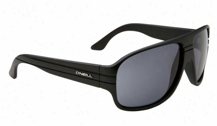 O'neill Alton Sunglasses Matte Black/grey Lens