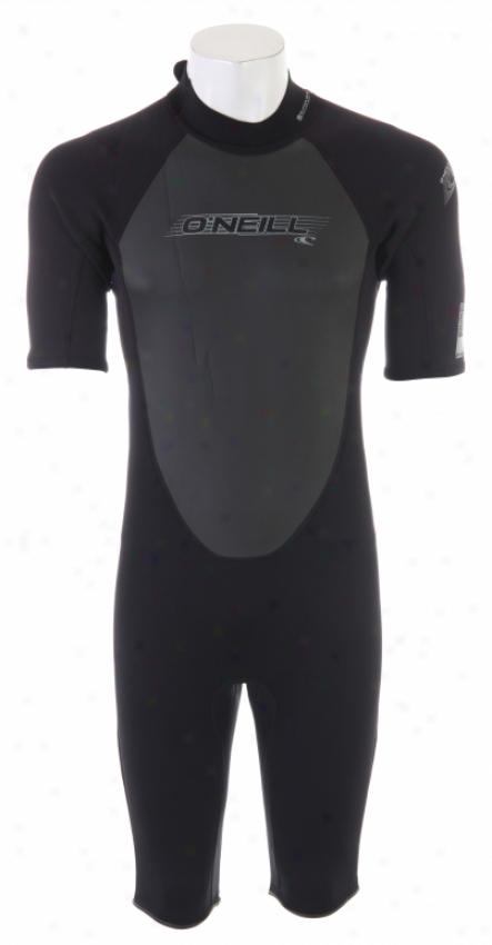 O'neill Reactor Spring Wetsuit Black/black/black