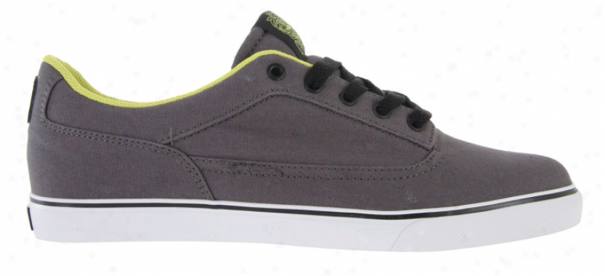 Osiris Czswell Vulc Skage Shoes Grey/white/lime