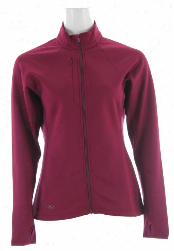 Outdoor Research Radiant Mongrel Fleece Berry