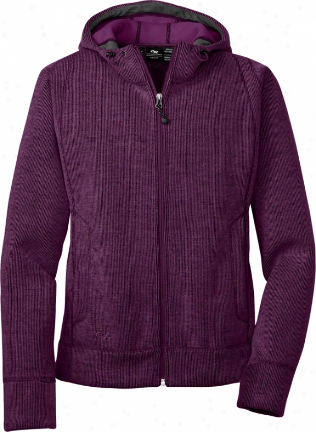 Outdoor Research Salida Fleece Hoodie Plum