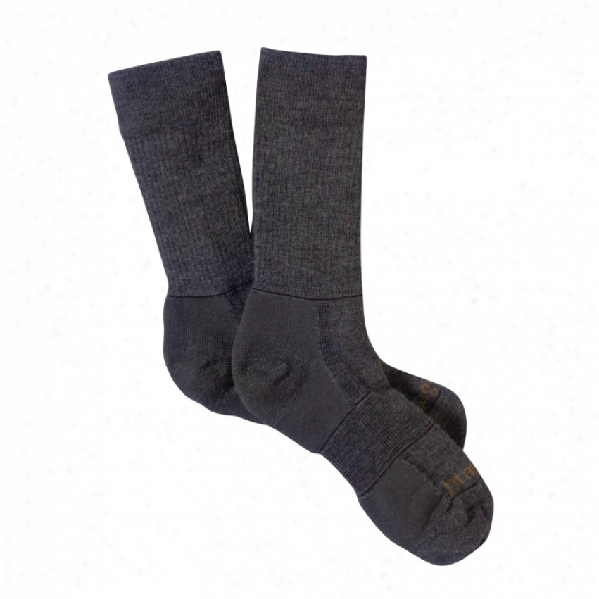 Patagonia Lw Merino Company Hiking Socks Forge Grey