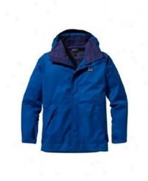 Patagonia Snowshot Ski Jacket Globe Blue