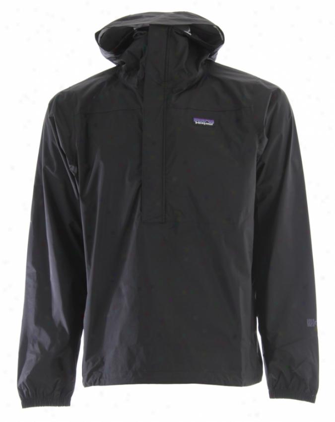 Patagonia Torrentshell Pullover Jacket Black