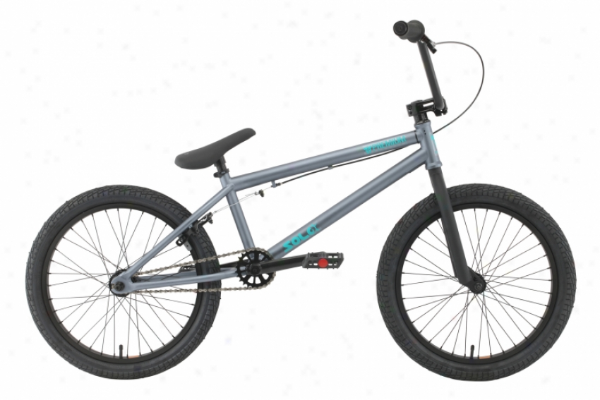 Premium Solo Bmx Bike Matte Foe Acid Bath 20""