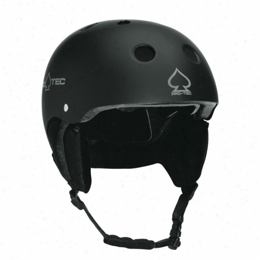 Protec Classic Snowboard Helmet Matte Black