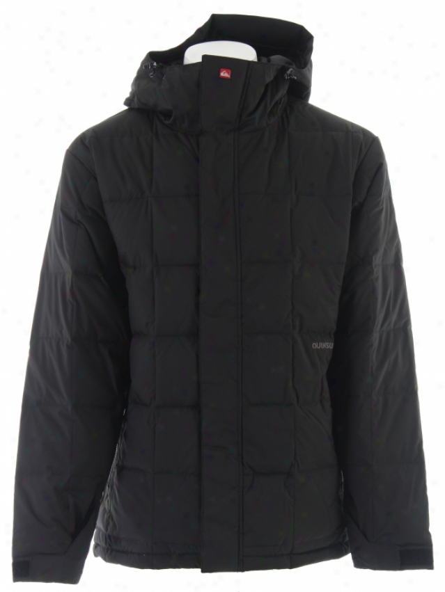 Quiksilver Chamber Insulated Snowboard Jacket Black