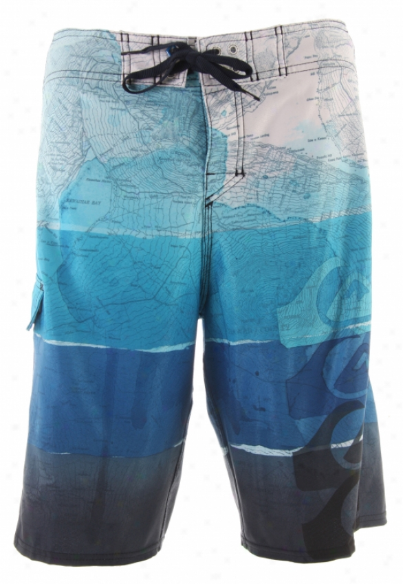 Quiksilver Cypher Alpha 21 Boardshorts Noble