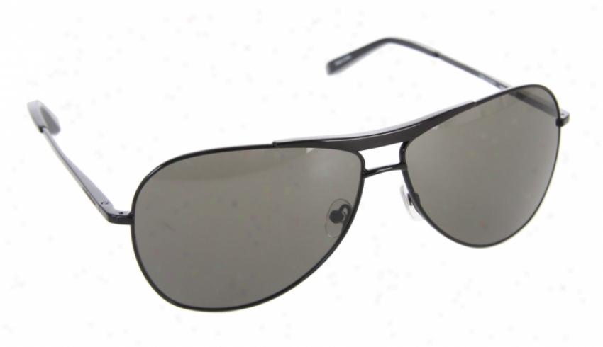 Quiksilver Goose Sunglasses Shiny/black Grey