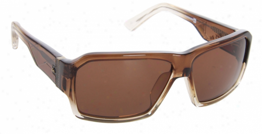 Quiksilver Shift Sunglasses Brown Crystal/brown