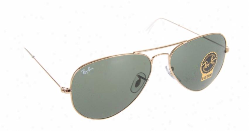 Rayban Aviator Sunglasses Arista W/ G15xlt Lens