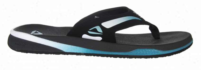Reef Awol Sandals Black/blue