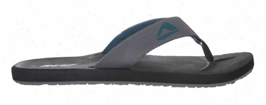 Reef Ht Sandals Grey/bblue