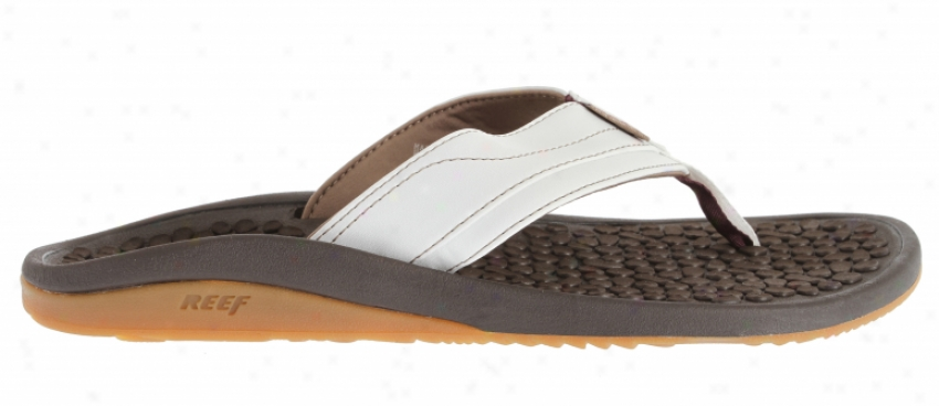 Reef Playa Negra Sandals Brown/white