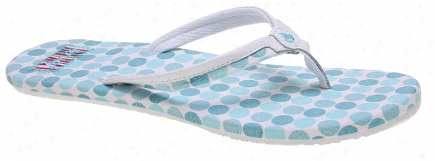Reef Summer Wrapper Sandals Blue/white