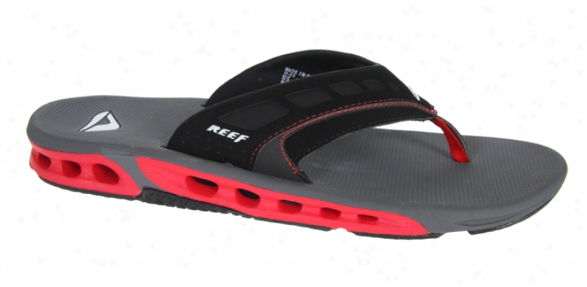 Reef Vision Sandals Grey/red