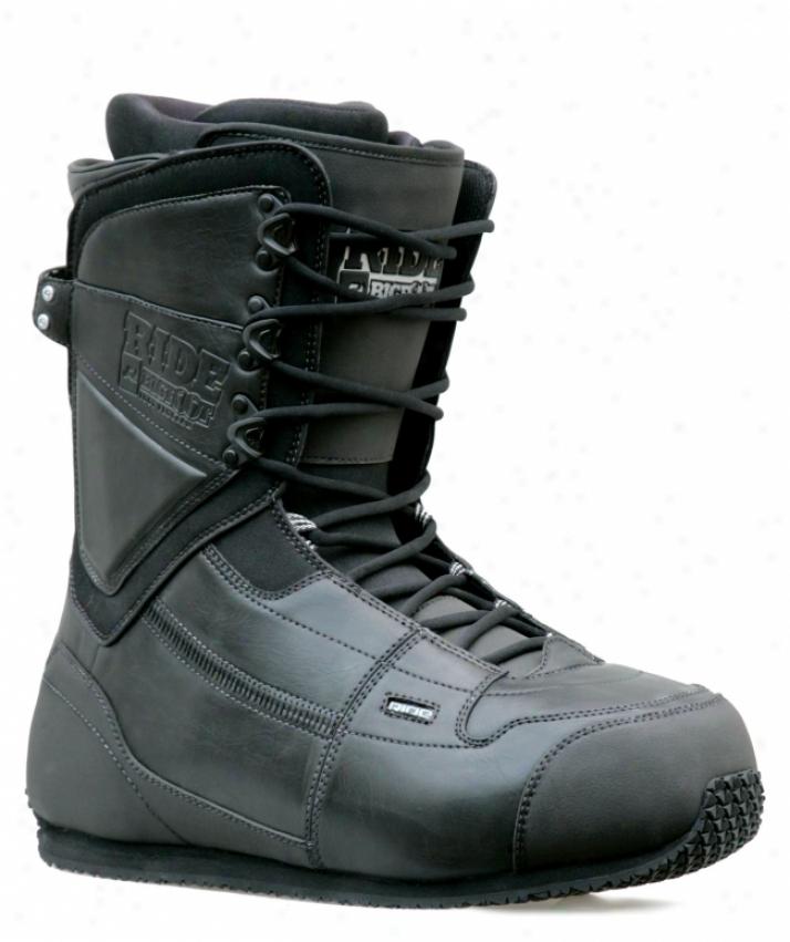 Ride Big Foot Snowboard Boots Black