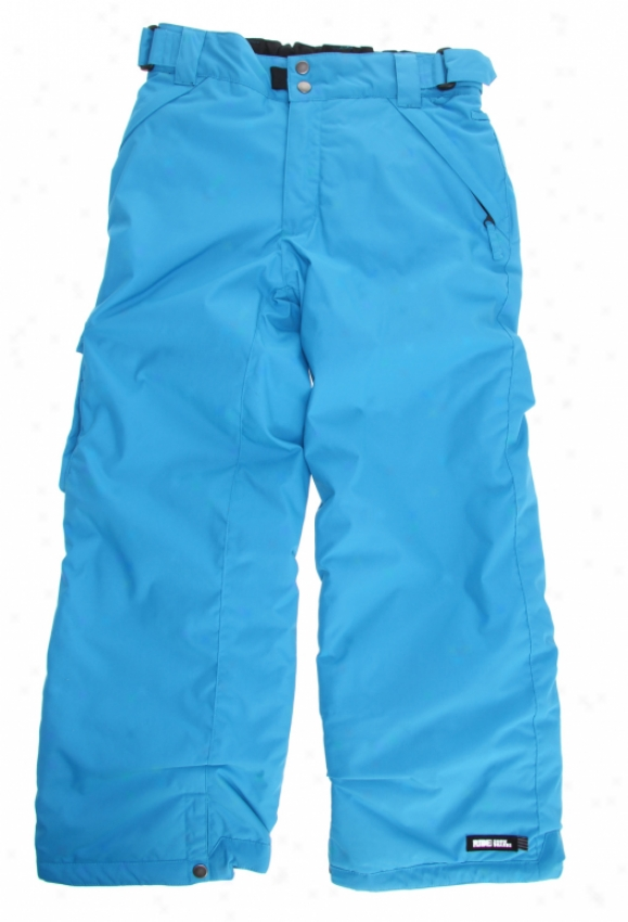 Ride Charger Insulated Snowboard Pants Bluebird