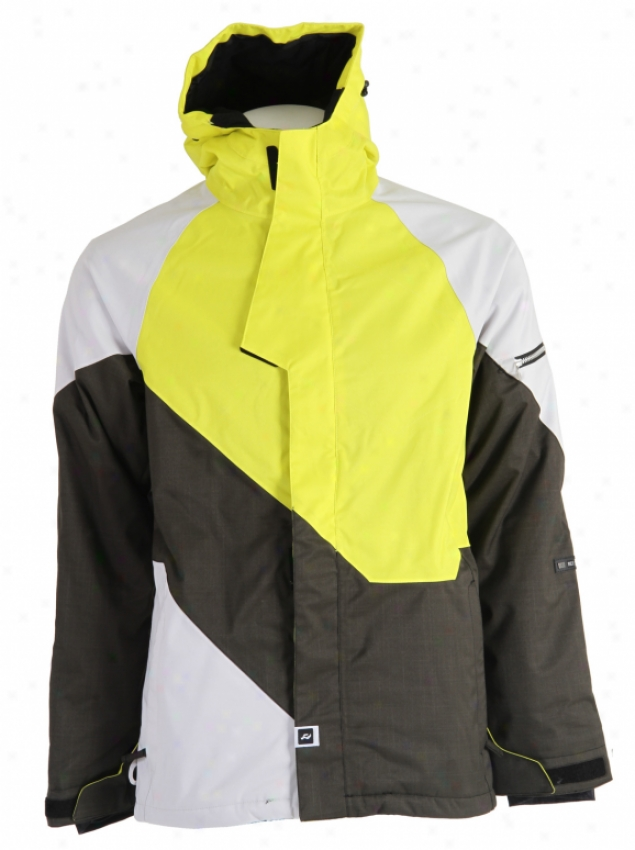 Ride Georgetown Insulated Snowboard Jacket Backened Forest