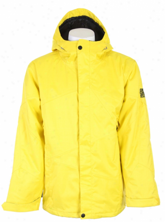 Ride Geirgetown Snowboard Jacket Yellow